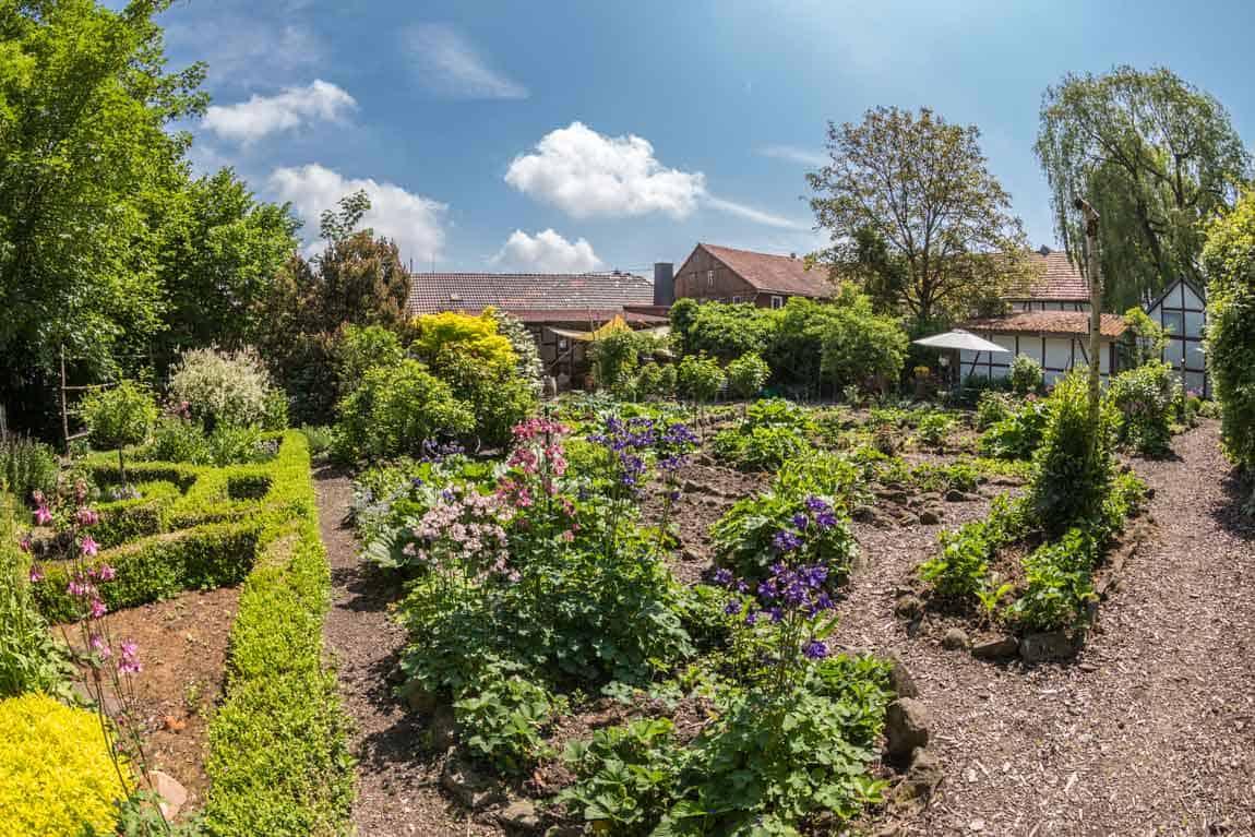 Garten der Alten Kelterei Arnshain